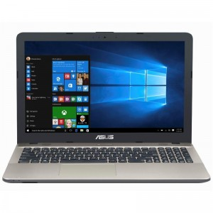 Laptop ASUS cu procesor Intel Celeron Dual Core N3350 pana la 2.40 GHz, 4GB, 500GB, Intel GMA HD 500, Licenta Widows 10 Home