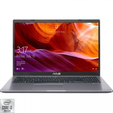 "Laptop ASUS X509JA-EJ005 cu procesor Intel Core i3-1005G1, pana la 3.4 GHz, Ice Lake, 4GB DDR4, 1TB, USB 3.1, LED 15.6"" Full HD"