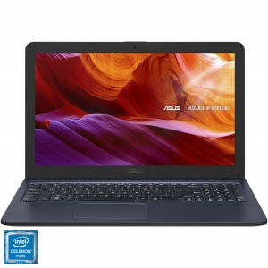 Laptop ASUS X543MA cu procesor Intel Celeron N4000, pana la 2.6 GHz, Gemini Lake, 4GB DDR4, 1TB, USB 3.0, LED 15.6""