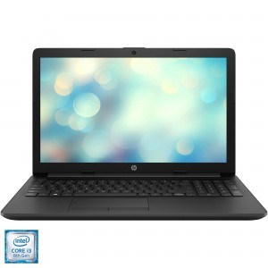 Laptop HP 15-da0194nq cu procesor Intel Core i3-8130U pana la 3.40 GHz, Kaby Lake R, 4GB DDR4, SSD 256GB, USB 3.0, LED 15.6""