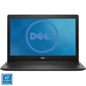 "Laptop DELL Inspiron 3582 cu procesor Intel Celeron N4400 pana la 2.6 GHz, 4GB DDR4, SSD 256GB, HDMI, USB 3.0, 15.6"" HD"