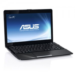 "Laptop ASUS EeePC 10.1"" LED, Intel Atom 1.67GHz, 2GB DDR3, 100GB, VGA, USB 2.0, WiFi, Web Cam"