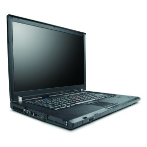 "Laptop LENOVO IBM THINKPAD T61 15.4"", Intel Core 2 Duo T7300 2.0GHz, 2GB DDR2, 80GB HDD, Combo, WiFi"