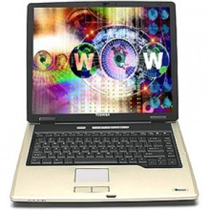 "Laptop TOSHIBA TECRA 15.4"", Intel Core 2 Duo T7400 2.16GHz, 2GB DDR2, 120GB, DVDRW, WiFi"