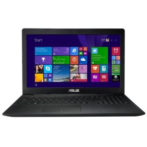 "Laptop ASUS X553MA, Intel Dual Core Cel N2840 pana la 2.58GHz, 4GB DDR3, 320GB, DVDRW, USB 3.0, HDMI, Web, WiFi, 15.6"" LED"