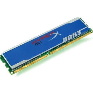 Memorie RAM 4GB DDR3 PC 1333 KINGSTON HyperX Blu