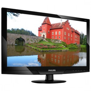 Monitor 22 LED PHILIPS 221EL2, WIDE, FULL HDD, GLOSSY BLACK