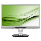 Monitor 22 LED PHILIPS 220P4I, 1680x1050, 5MS, VGA, DVI, BOXE, USB PORT, SILVER