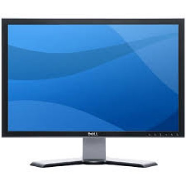 Monitor 24 LCD DELL 2407WFP, 1920x1200, VGA, DVI, USB 2.0, Card Reader