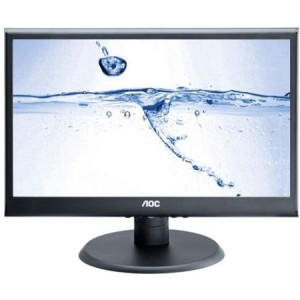 "Monitor LED AOC 18.5"", Wide, LED, Negru"
