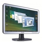 Monitor 19 LCD PHILIPS 190SW  WIDE, SILVER