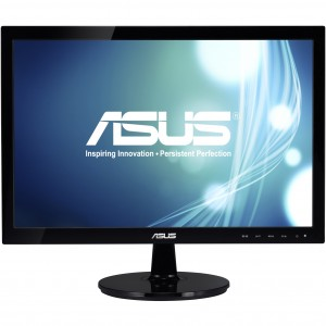Monitor 19 LED ASUS, Wide, Negru Lucios