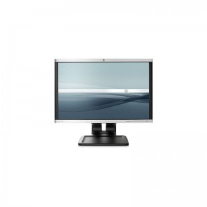 Monitor 24 LED HP LA2405X, Full HD 1920x1200, Wide, 5MS, VGA, DVI, Display Port, SILVER/BLACK