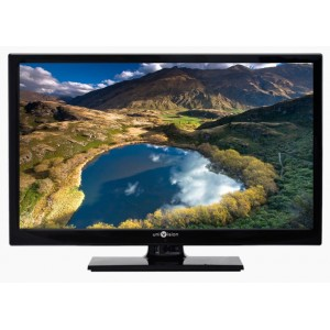 Televizor LED 59 cm, HD, redare USB, 2*HDMI, mediaplayer FullHD MPEG4, piano design