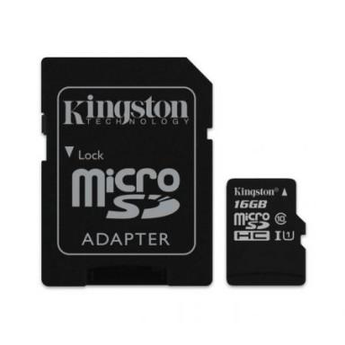 Card de memorie MicroSDHC, 16GB