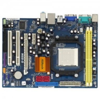 Placa de baza ASROCK N68-S, Socket AM2/AM2+/AM3, 2*DDR, 1*PCIE, 2*PCI, 4*SATA, 1*IDE, 2*PCI, LAN, VGA, 4*USB, PS2, SERIAL, PARALEL