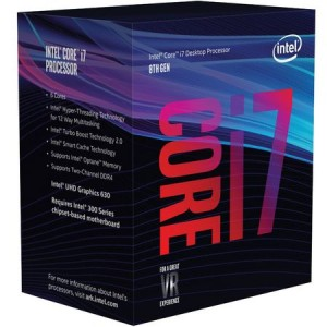 Procesor Intel Kaby Lake i7-8700K pana la 4.70GHz, 12MB Cache, Socket 1151