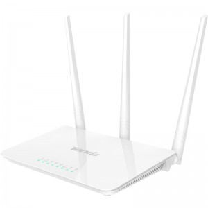 Router wireless Tenda F3, 300 Mbs, 3 x antene 5 dBi