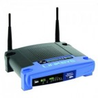 Router wireless Linksys WRT54GL, 4 porturi full-duplex