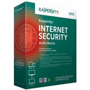 Antivirus Kaspersky (versiunea noua), 1 An + 3 luni gratuit  - licenta retail