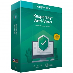 Antivirus Kaspersky (versiunea noua), 1 An, 1 PC  - licenta retail