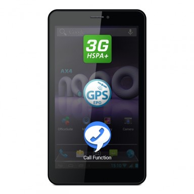 "Tableta IPS 7"" ARCAS, Quad Core ARM 1.3GHz, 1GB DDR3, 8GB, 3G, GPS, WiFi, Bluetooth, Android 6"