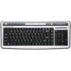Tastatura Standard Slim Pleomax PKB5000, USB/PS2