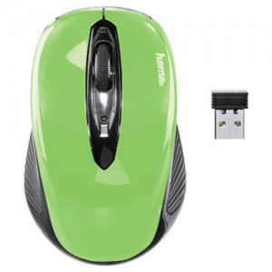 Mouse Wireless HAMA Verde