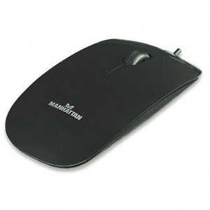 Mouse USB MANHATTAN, Super Slim, 1000 dpi