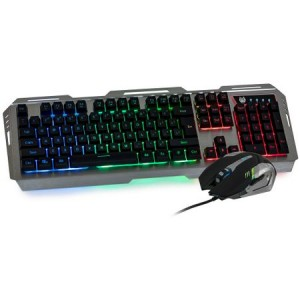 Kit gaming, A+ M2 tastatura metalica, mouse 3200 DPI