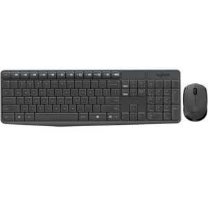 Kit Wireless tastatura + mouse optical Logitech MK235, USB