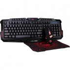 Kit Gaming, tastatura + mouse Marvo CM350, Negru