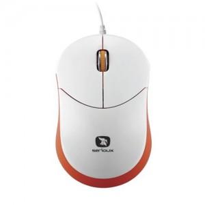 Mouse Serioux Rainbow 680 Orange, USB