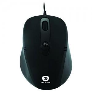 Mouse USB SERIOUX CRUZER negru