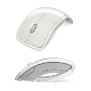 Mouse wireless Arc White