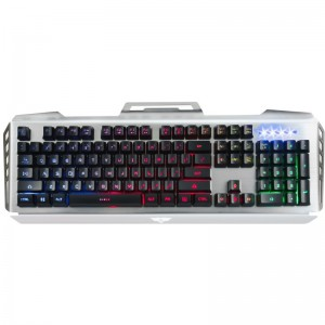 Tastatura Gaming Newmen GM816, black-silver, USB