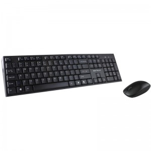 Kit Wireless tastatura + mouse optical Serioux, USB