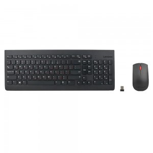 Kit Wireless tastatura + mouse optical Lenovo 510, USB