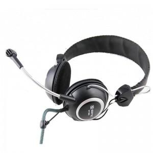Casti Senicc On-ear cu microfon, negru