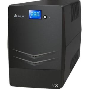 UPS Delta Aglion Family VX Series, 1000VA, 600 W, USB, Line-interactive